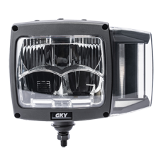 Square Combination Bi-LED Headlight with DRL/Turn