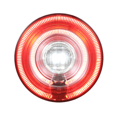 122mm Tail Light -GL-136-2 (Rear Fog+Reverse)