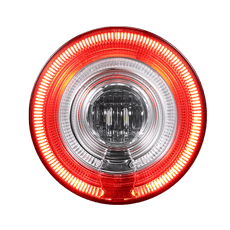 122mm Tail Light -GL-137-2 (Rear fog +Reverse )